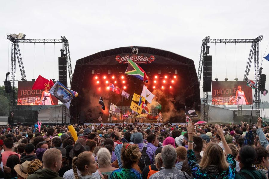 RG Jones across four stages at Glastonbury Festival