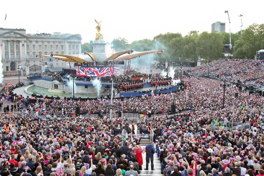 Celebrating the Queen's Diamond Jubilee