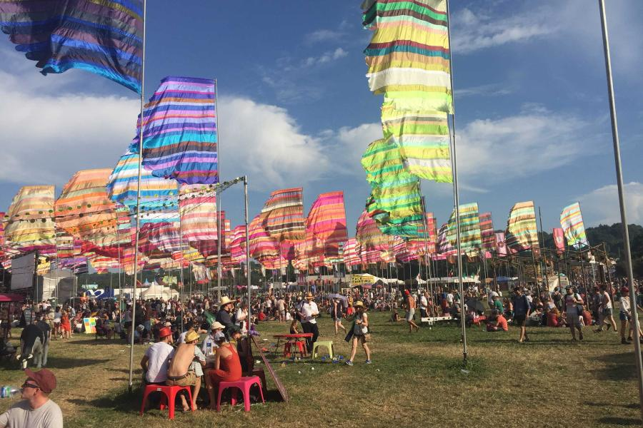 RG's celebrate ten years at Glastonbury Festival