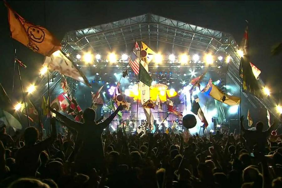 Third Consecutive Year at Glastonbury