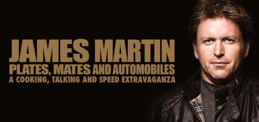 On the road with James Martin - Plates, Mates and Automobiles