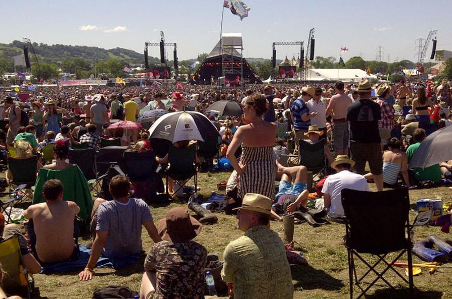 Glastonbury Festival and RG Jones - soaked in history
