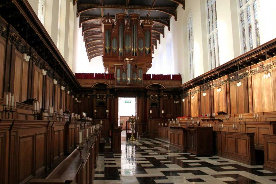 Distributed Audio Solution for Trinity College Chapel