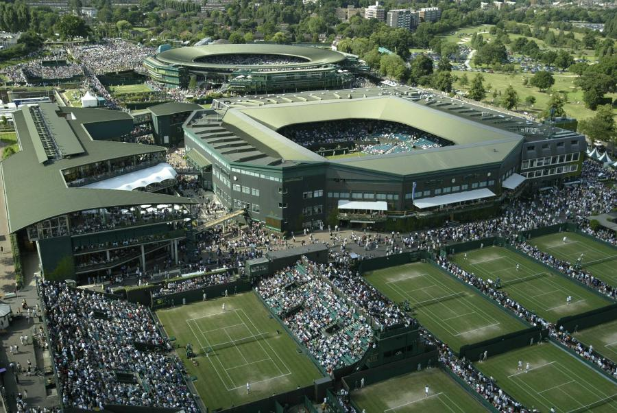 Redesigned Audio Network at Wimbledon
